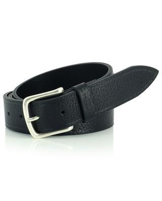 Bufalo grained leather buffalo leather belt ANDREA D'AMICO