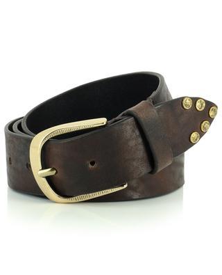 Noricamo studded vintage leather belt ANDREA D'AMICO