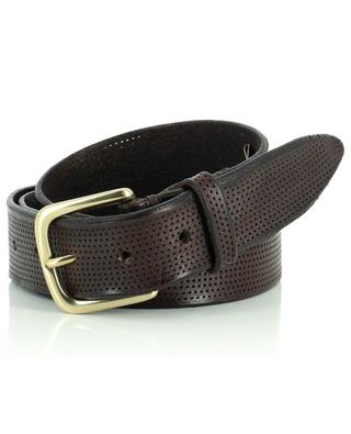 Vintage perforated leather belt ANDREA D'AMICO