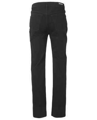 Verkürzte Slim-Fit-Jeans im Used-Look Pitch Black BALENCIAGA