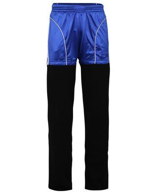 Jogginghose aus Baumwolle und technischem Jersey Patch Jogger BALENCIAGA