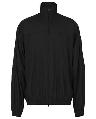 Loose fit track jacket with monogram embroidery BALENCIAGA