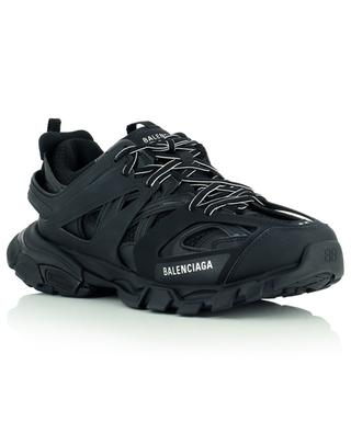 Track lace-up multi material sneakers BALENCIAGA