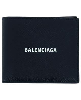 Brieftasche aus texturiertem Kalbsleder Logo BALENCIAGA