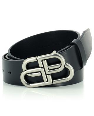 BB logo leather belt BALENCIAGA