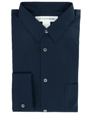 Langärmliges Popelinehemd mit Brusttasche COMME DES GARCONS SHIRT