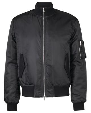 Nylon satin bomber jacket DONDUP