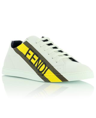 Leather logo sneakers FENDI
