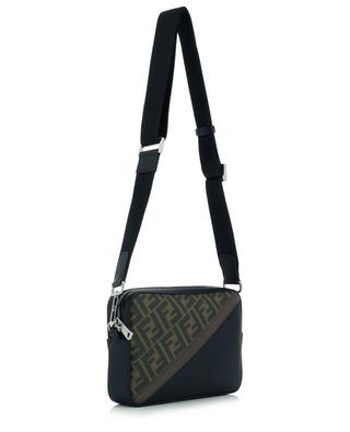 Camera Case Medium leather and FF canvas shoulder bag FENDI