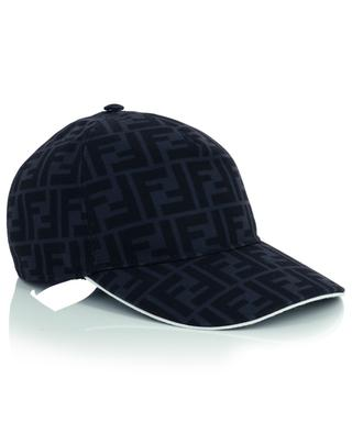 FF printed canvas baseball cap FENDI