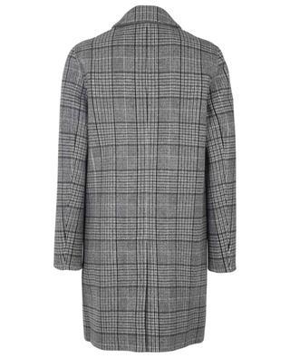 Manteau à carreaux en cachemire et laine vierge THEORY