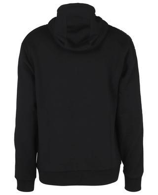 Sweat-shirt à capuche détail bande jacquard FF FENDI