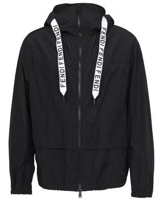 K-Way Fluid Fendi Tape windbreaker jacket FENDI