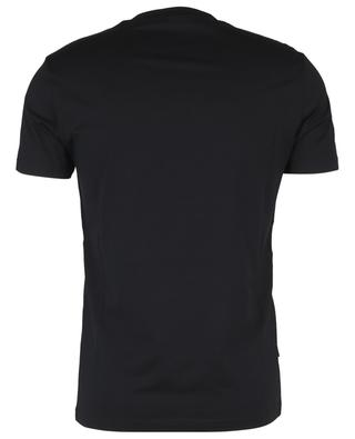 T-shirt en coton et mesh logo FF FENDI