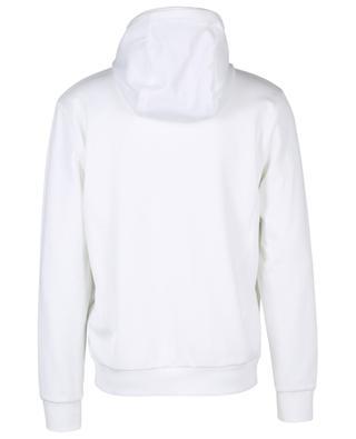 Sweat-shirt zippé à capuche en jersey et mesh monogrammé FF FENDI