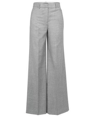 Terena Sleek Flannel wide-leg trousers THEORY