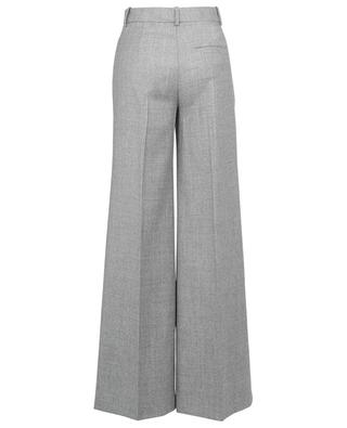 Hose mit weitem Bein aus Sleek Flannel Terena THEORY