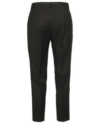 Verkürzte Slim-Fit-Hose aus Sleek Flannel Treeca THEORY