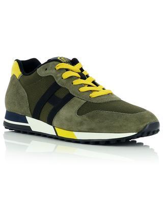 Sneakers aus Wildleder und Stoff H383 HOGAN