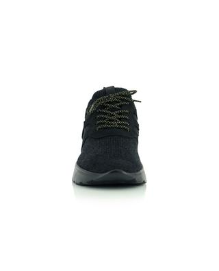 Niedrige Sockensneakers mit Nubuk-Details Active One Knit HOGAN