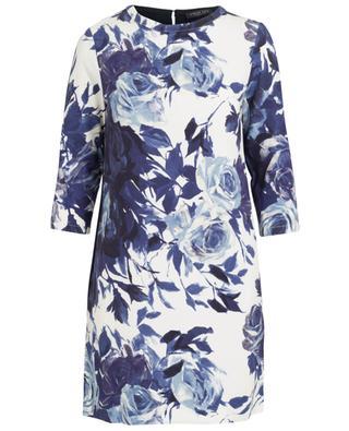 Kurzes Kleid mit Blumenmuster TWINSET