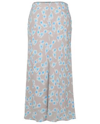 Radiand Leaved printed midi-length crepe skirt DOROTHEE SCHUMACHER
