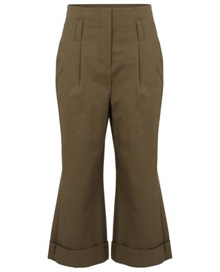 Adventurous Moments high-rise wide-leg trousers in gabardine DOROTHEE SCHUMACHER