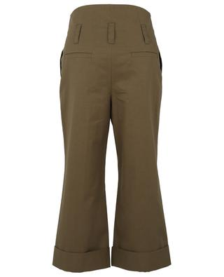 Adventurous Moments high-rise wide-leg trousers in gabardine DOROTHEE SCHUMACHER