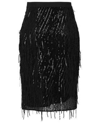 Jupe courte en tulle embellie de sequins Dazzling Shimmer DOROTHEE SCHUMACHER