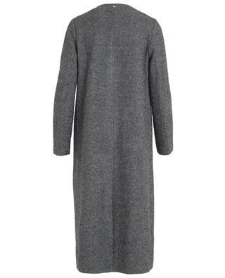 Manteau en laine et soie mélangées LORENA ANTONIAZZI