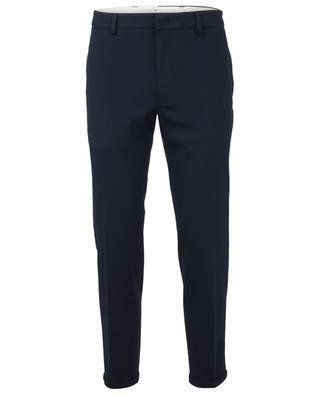 Pantalon raccourci classique en jersey PAOLO PECORA