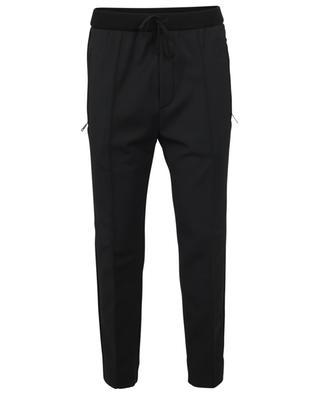 Pantalon de jogging slim en laine mélangée PAOLO PECORA