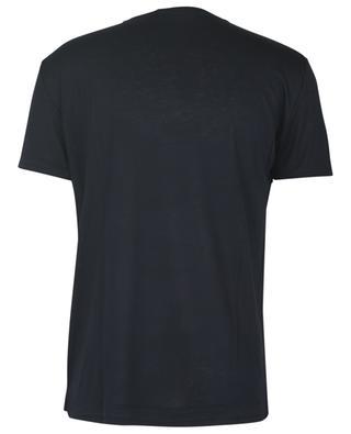 T-shirt à col rond et manches courtes en jersey de viscose PAOLO PECORA
