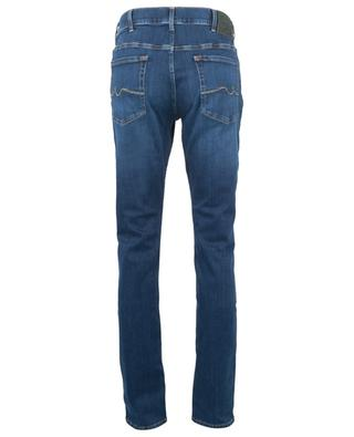 Dunkle Skinny-Fit-Jeans Ronnie Special Edition Uniform Blue 7 FOR ALL MANKIND
