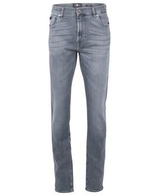 Ronnie Special Edition Sailor Grey faded skinny fit jeans 7 FOR ALL MANKIND