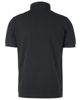 Kurzarm-Poloshirt aus Baumwolle mit stilisierter Windrosenstickerei STONE ISLAND