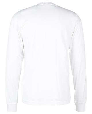 Long-sleeved T-shirt with chest wind rose patch STONE ISLAND