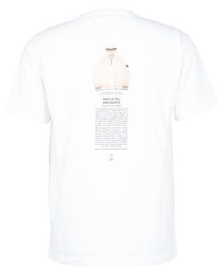 Kurzarm-T-Shirt mit Stickerei und Print Stone Island Archivio STONE ISLAND