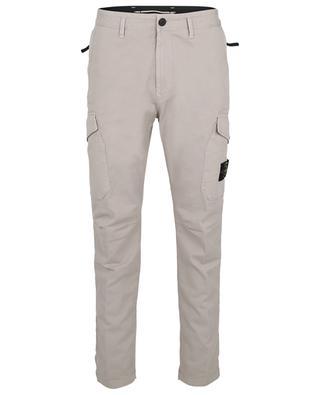 Pantalon cargo fuselé en gabardine stretch 31310 STONE ISLAND
