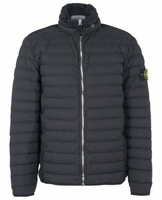 Loom Woven Down Chambers Stretch Nylon-TC lightweigt quilted down jacket STONE ISLAND