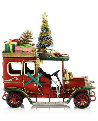 Vintage car transporting presents KAEMINGK