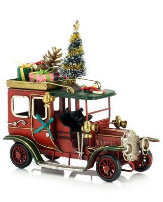Voiture ancienne transportant des cadeaux KAEMINGK