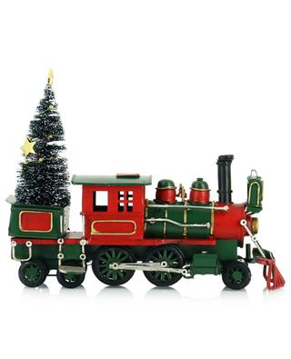 Locomotive transportant un sapin KAEMINGK