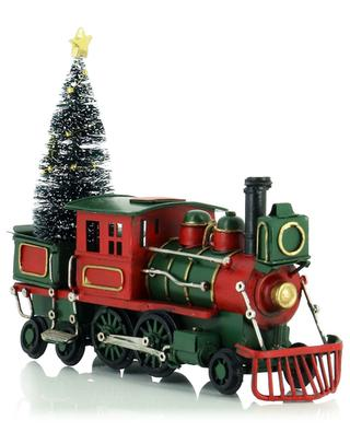 Lokomotive mit Christbaum KAEMINGK