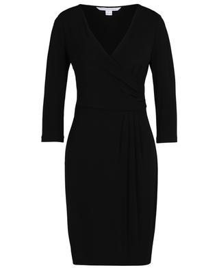 Kleid aus Viskose mit Falten DIANE VON FURSTENBERG