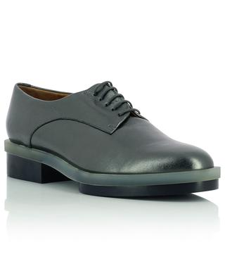 Roma4 metallic lambskin derby shoes CLERGERIE