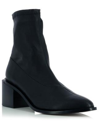 Xia4 heeled lambskin stretch ankle boots CLERGERIE