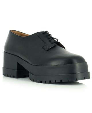 Wonnie heeled leather derby shoes CLERGERIE