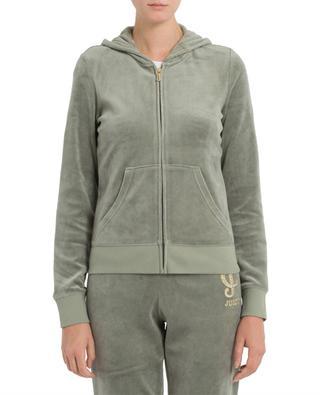 Veste à capuche en velours Sunburst JUICY COUTURE