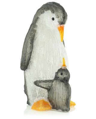 Figurine lumineuse pingouin et bébé KAEMINGK
